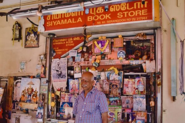 Citytrip Singapur: Bookstore in Little India