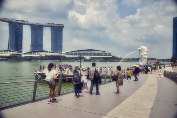 Citytrip Singapur: Merlion und Marina Bay Sands