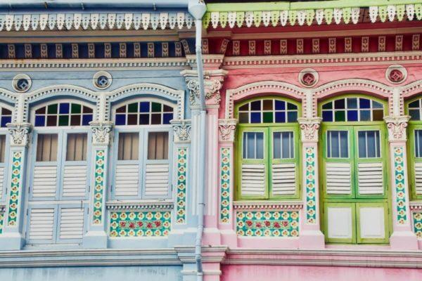 Citytrip Singapur: Shophouses in Katong