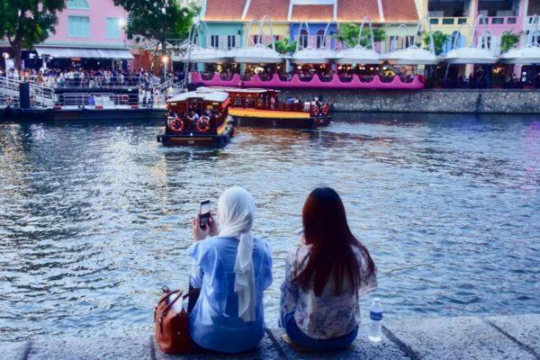 Citytrip Singapur: Vergnügungsviertel Raffles Quay am Singapore River