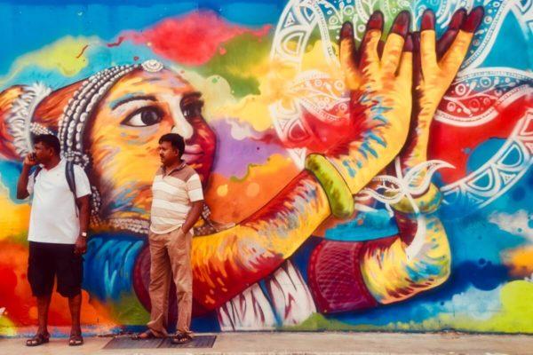 Citytrip Singapur: Streetart in Little India