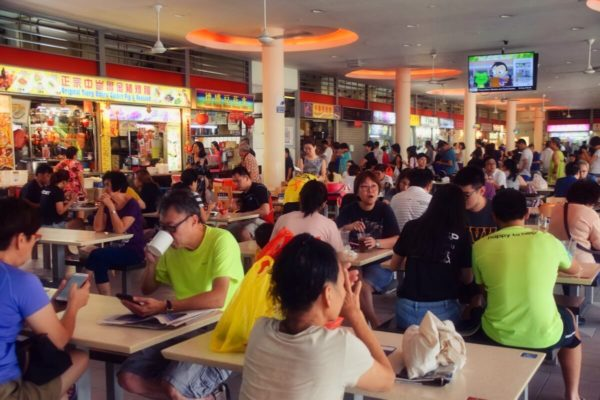 Citytrip Singapur: Food Court in Tiong Baru