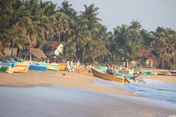 Sri Lankas Norden: Fischer am Strand von Arugam Bay