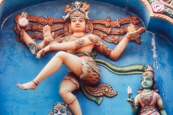 Sri Lankas Norden: Tanzender Shiva am Hindutempel