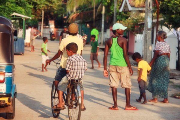 Sri Lankas Norden: Straßenszene in Jaffna