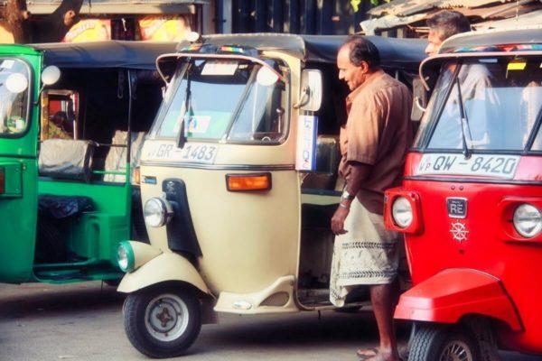 Sri Lankas Norden: Tuk Tuks in Jaffna