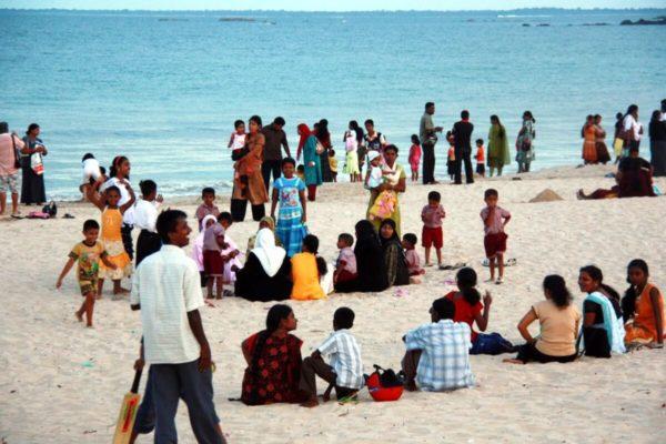 Sri Lankas Osten: Abendstimmung an der Dutch Bay in Trincomalee