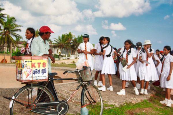 Sri Lankas Norden: Eisverkäufer in Jaffna